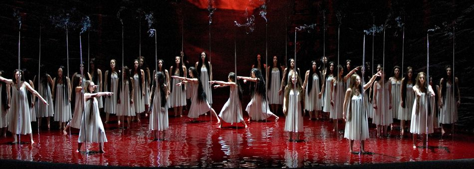 Parsifal act 2 in the recent Met production