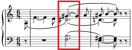 The opening bars of 'Tristan und Isolde'