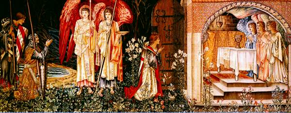 The Attainment of the Holy Grail, Burne-Jones