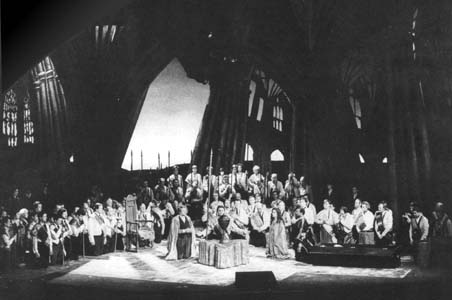 Presentation of the Mrs. Featheringay-Fawcett Cup. Parsifal at Covent Garden in 1988.