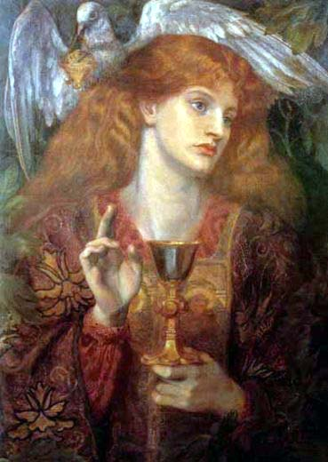 Image: Elaine by D.G.Rossetti