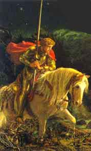 Image: And Peredur rode forward