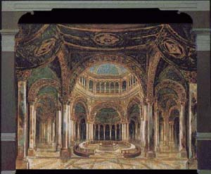Image: The Grail Temple, Bayreuth 1882