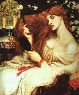 Lilith by D.G. Rossetti