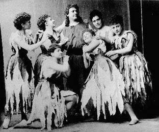 Parsifal and Flower Maidens, 1882
