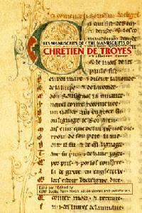 Image: Book cover: The Manuscripts of Chretien de Troyes