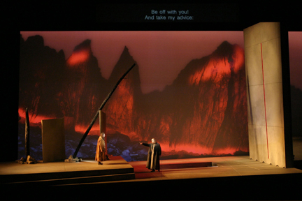 Image: End of Act II in a recent Seattle production