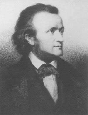 Image: Richard Wagner, about 1860