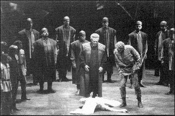 Image: Parsifal act one, Bayreuth 1989